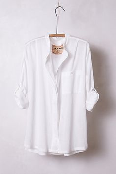 4cc1ce01 love Blouse Outfit, Classic White, White Shirts, White Button Down Shirt,  Chic