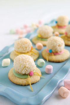 #EasterBonnet #Cookies by Paula Deen