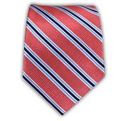 Bella Stripe - Coral from TheTieBar.com - Wear Your Good Tie Everyday