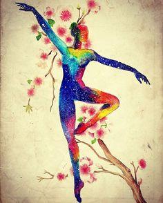 """좋아요 87개, 댓글 5개 - Instagram의 ailin(@ailin_a1)님: """"Dance of Spring fairy  #drawing #painting #illustration #coloredpencil #watercolor #painting #일러스트…"""""""