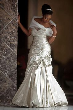 wow, pretty african american bride
