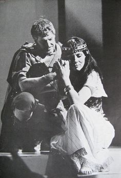 Chichester Festival Theatre 1985 Anthony & Cleopatra Denis Quilley Diana Rigg