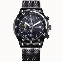 Brand NEW 2017 Steampunk Clock Mens Quartz Sport Watch Water Resistant Men Wrist Watch Military Style Men Wristwatches - Watchesfixx
