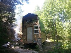 This $2k tiny home story is a guest post by Winston W. Johnson Hi Alex (and Tiny House Newsletter readers), I started my tiny shelter in December of 2013, it's built on a 1965 Yellowstone Cavalier ...