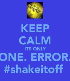 Can you turn around like Michael Jackson Break it down like Britney Spears  Shake it off like salt and pepper No you can't!  Softball sass ;)