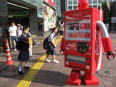 Japanese Vending Machine Robot
