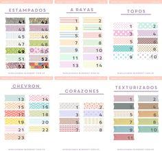 DM + Freebies: 200 models of digital washi tape to download | Miss Lavender