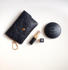 Louis Vuitton, wallet, chanel, mac