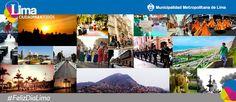 Los limeños compartieron sus mejores imágenes de la ciudad por el aniversario de Lima.