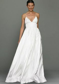 So It Might Be An Old Discontinued Design J Crew Wedding Gown Spaggettistraps