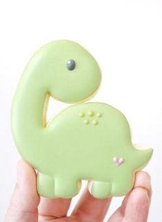 Dinosaur Birthday Cakes, Dinosaur Cake, Dinosaur Party, Dinosaur Crafts, Dinosaur Cookie Cutters, Dinosaur Cookies, Iced Cookies, Cute Cookies, Owl Cookies
