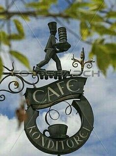 Restaurant Signs, Pub Signs, Antique Signs, Vintage Signs, Deco Cafe, Coffee Shop Signs, Storefront Signs, Cafe Sign, Sculpture Metal