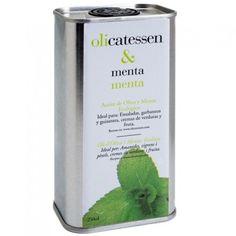 La tienda online gourmet y delicatessen Érase un gourmet tiene a la venta aceite de oliva virgen extra y aceite esencial de menta, marca Olicatessen. Recomendado para aliñar guisantes, lechuga, garbanzos, crema de verduras, fruta y, sobre todo, chocolate