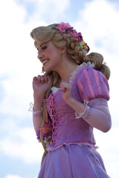 Rapunzel is absolutely darling