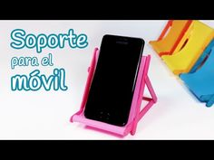 Manualidades: SOPORTE para el MOVIL (silla de playa) - Innova Manualidades - YouTube