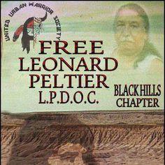 .free Leonard Peltier ...