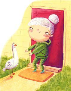 book illustrated for Zielona Sowa publishing, written by Agnieszka Stelmaszyk