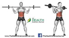 © Sasham   Dreamstime.com - Exercising for bodybuilding. Turns torso with barbell