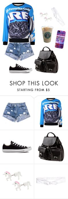 """""""Untitled #5073"""" by northamster ❤ liked on Polyvore featuring Converse, Doucal's, H&M and Casetify"""