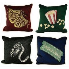 great pillows for a home theater/family room