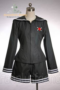 Kodona/Dandy/Ouji Navy Collar Jacket & Short Pants*Instant Shipping