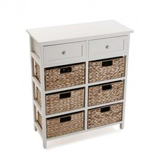 EIGHT DRAWER WOOD CABINET