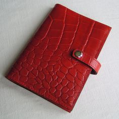 Real Leather Notebook Cover with Notebook