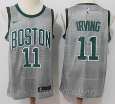 NBA nike City Edition gris kyrie irving Boston Celtics 2018 Marca  nike  Equipos  Boston Celtics Jugador  kyrie irving Adecuado para  Hombre Estilo   ... 59c50ec476f