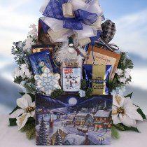 Winter Wonderland Season's Greetings #Christmas Gift Basket