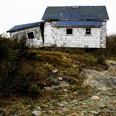 Abandoned house. Nova Scotia, Canada.