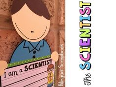 The Scientist {Craft, printables and more in English and Spanish}