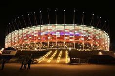 EM 2012 Stadion in Warschau. (Foto von: Mateusz Włodarczyk)