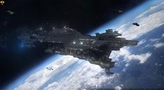 """""""The Outcome Justifies the Deed"""" Official """"Spirit of Fire"""" Ships Motto. The UNSC Spirit of Fire is a Phoenix-class support vessel in service of the UNSC. Spirit of Fire Concept Ships, Concept Art, Halo Ships, Hd Wallpaper Quotes, Space Story, Halo Game, Starship Concept, Spaceship Art, Aircraft Design"""