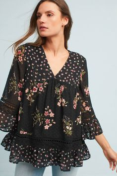 8d69447546a2 Shop the Steffy Bell-Sleeve Blouse and more Anthropologie at Anthropologie  today. Read customer