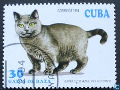 Postage Stamps - Cuba [CUB] - Cats