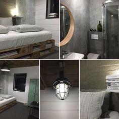 #beton, #modern, #loft, #interior, #room, #industrial, #przechowalniamarzen, #lamp, #metal, #mirrow, #mikolajki #holidays #wakacje #pensjonat #guesthome #home