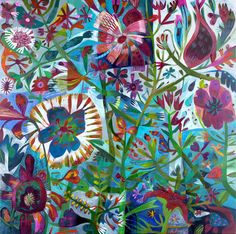 Este MacLeod is an artist whose works are full of personality. They offer beautiful depictions of nature and celebrate plants and idyllic landscapes.