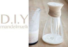 Mandelmælk - opskrift på nem hjemmelavet mandelmælk