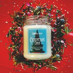 Hey, I found this really awesome Etsy listing at https://www.etsy.com/listing/213644728/christmas-day-jam-jar-candle