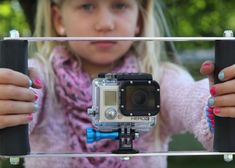 clicklikethis.com | How to DIY a GoPro double-handle tray mount. #gopro #DIY #photography