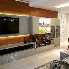 Sala AK: Salas de estar Moderno por A3 Arquitetura