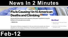 News In 2 Minutes - Flu Deaths - Syrian Proxy War - Israel Downs Drone -... https://youtu.be/pwGbnpFk0rY via @YouTube