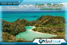 Abel Tasman National Park, New Zealand  |  #Abel #Tasman National Park is a New Zealand national park located between Golden Bay and Tasman Bay at the north end of the South #Island. It is named after Abel Tasman, who in 1642 became the first European explorer to sight New Zealand and who anchored nearby in Golden Bay.  |  #Travel ✈ to New Zealand with #KiwiTravel : http://www.kiwitravel.co.uk/   |  #AbelTasmanNationalPark #GoldenBay #TasmanBay #NZ #Flights #FlightstoNewZealand