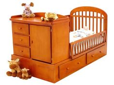 cuna cama+ - Buscar con Google Baby Crib Diy, Baby Cribs, Baby Room Furniture, Baby Room Decor, Wood Pallet Crafts, Kids Bedroom Designs, Indian Home Decor, Baby Bedroom, Diy Bed