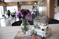 Bridal Shower; fairy tale theme, white & purple