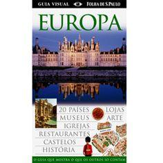 Livro - Europa - Guia Visual Folha