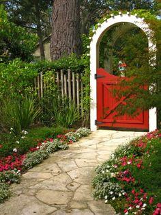 gartentore-gartentüren aus metall landhausstil   gartentore, Garten und erstellen