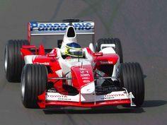 P13: Cristiano da Matta (BRA) - Toyota TF103 - 10 Points #motorsport #racing #f1 #formel1 #formula1 #formulaone #motor #sport #passion