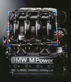BMW M3 racing engine, team A touring car 1990