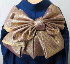 イメージ 6 Yukata Kimono, Kimono Fabric, Kimono Dress, Diy Dress, Japanese Outfits, Japanese Fashion, Geisha, Kalluto Zoldyck, Obi One